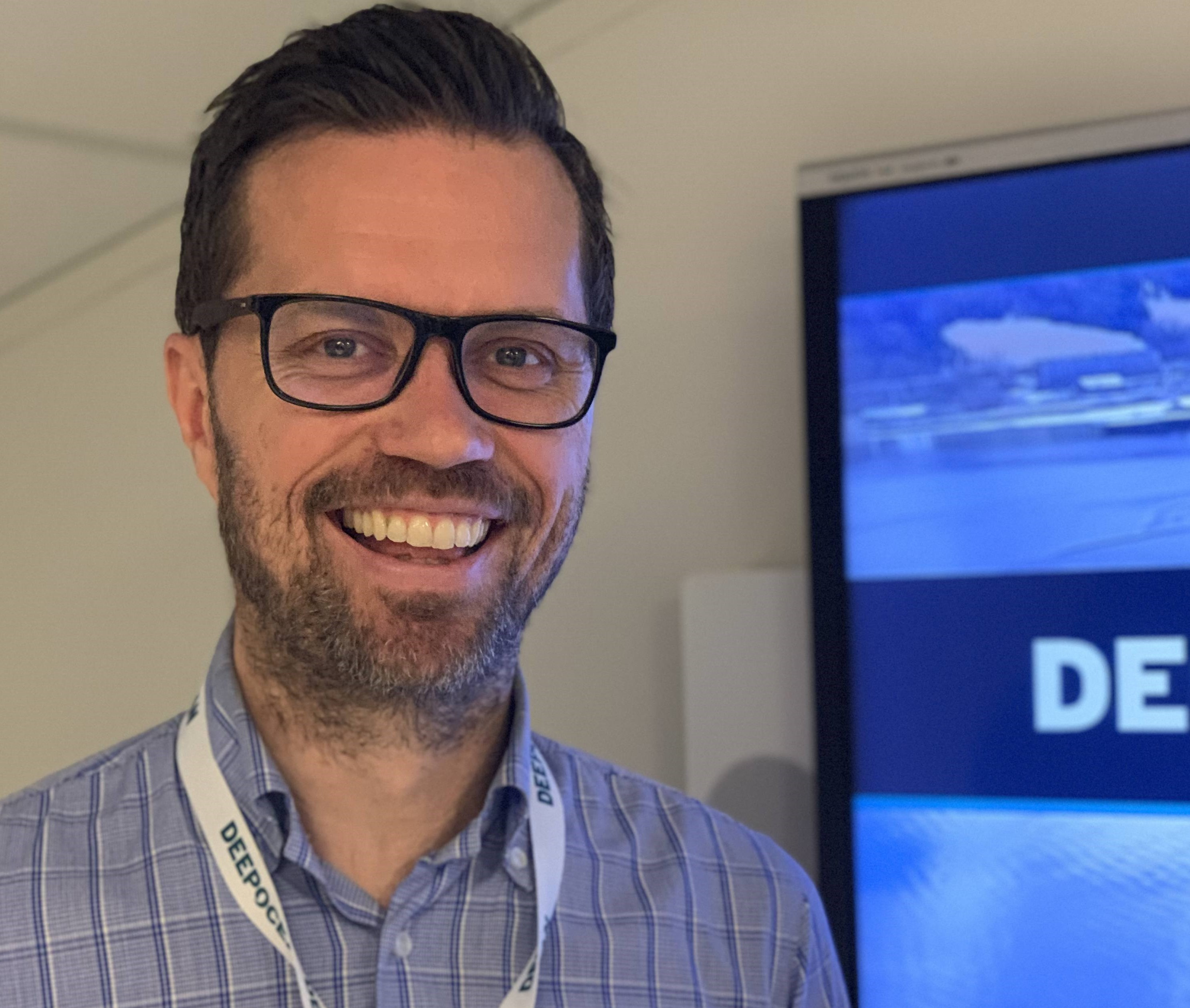 DeepOcean Project Manager, Terje Nordeide